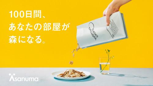 【樹齢130年の吉野杉で】淺沼組がつくる森の香りのインテリア『ヨシノチップス』