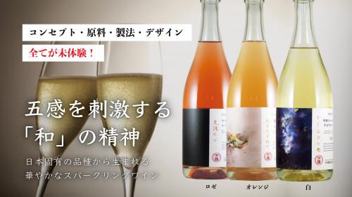 老舗・岩崎醸造の挑戦!勝沼の限られたエリアのブドウを用いたスパークリングワイン