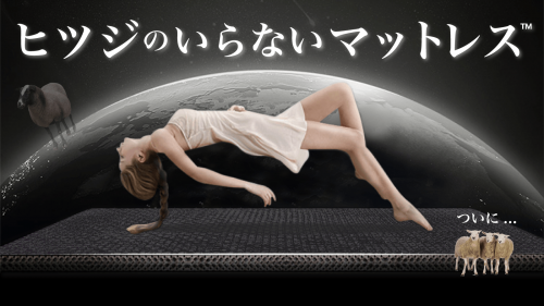 【ついに登場】どんな寝床も贅沢な空間に!2層構造で体をぷにょんと包み込む新体験!