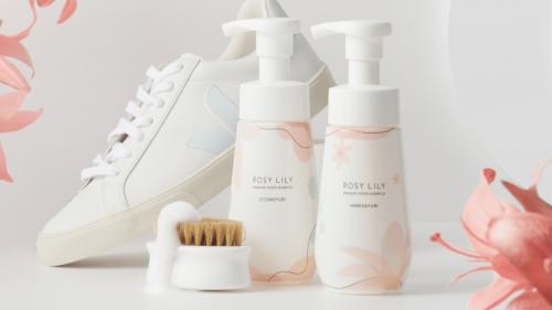 【すすぎ不要】驚くほど簡単に靴を洗える。ROSYLILY シューズシャンプー