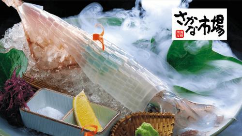 烏賊取扱い技能士が捌く【鮮度抜群の逸品】九州 イカの姿造り